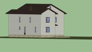 Дом в 3D (расцветка) 5