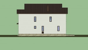 Дом в 3D (расцветка) 6
