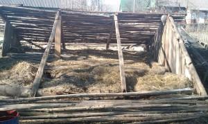 крыша погреба